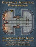 Fitzhywel's Fantastical Paraphernalia: Dungeons Basic Maps