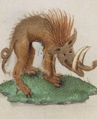 Weekly Beasties: Lank Boar