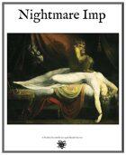 Weekly Beasties: Nightmare Imp