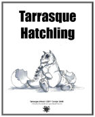 Weekly Beasties: Tarrasque Hatchling