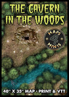 The Cavern in the Woods Map