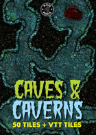 50 Caves & Caverns Tiles