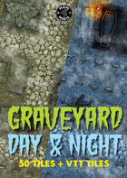 50 Graveyard Day & Night Tiles
