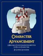 Character Advancement - A Hero Kids Compatible Supplement for Levelling Characters