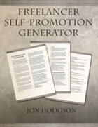 Freelancer Self-Promotion Generator