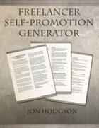 Freelancer Self-Promotion Generator