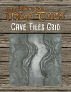 Jon Hodgson Map Tiles - Cavern Tiles With Grid
