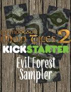 Evil Forest Digital Tiles Sampler