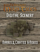 Jon Hodgson Maps - Barrels, Crates and Boxes