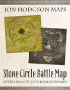 Jon Hodgson Maps - Stone Circle Battle Map