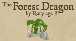 The Forest Dragon by Rory