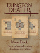 Dungeon Dealer Maze Deck 1