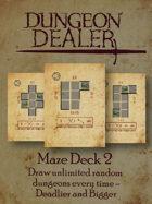 Dungeon Dealer Maze Deck 2