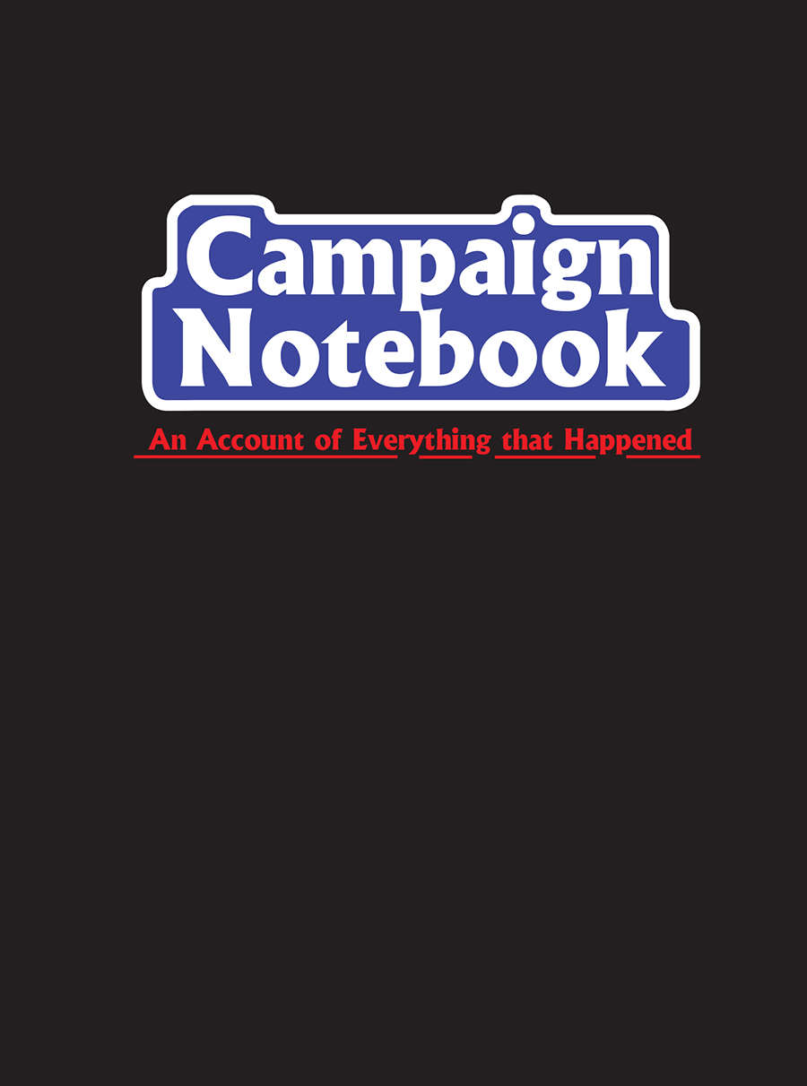 Campaign Notebook