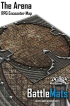 "The Arena 24"" x 24"" RPG Encounter Map"
