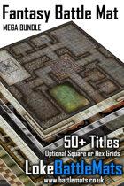 Mega Battle Mat Bundle - Fantasy [BUNDLE]