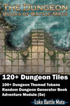 The Dungeon - Books of Battle Mats (Digital Edition)