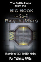 The Big Book of Sci-Fi Battle Mats Map Bundle [BUNDLE]