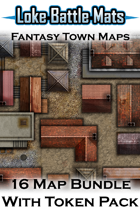 Fantasy Town Maps [BUNDLE]