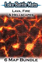 Lava, Fire & Hellscapes [BUNDLE]