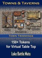 Town Trimmings Token Set