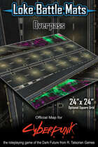 "Overpass 24"" x 24"" RPG Encounter Map"