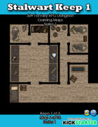 50+ Fantasy RPG Maps 1: (6 of 94) Stalwart Keep 1