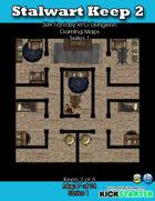 50+ Fantasy RPG Maps 1: (7 of 94) Stalwart Keep 2