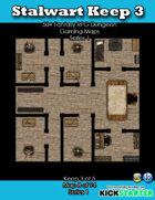 50+ Fantasy RPG Maps 1: (8 of 94) Stalwart Keep 3