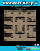 50+ Fantasy RPG Maps 1: (10 of 94) Stalwart Keep 5