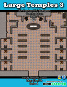 50+ Fantasy RPG Maps 1: (33 of 95) Large Temples 3