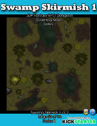 50+ Fantasy RPG Maps 1: (55 of 95) Swamp Skirmish 1