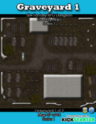 50+ Fantasy RPG Maps 1: (57 of 95) Graveyard 1