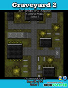 50+ Fantasy RPG Maps 1: (58 of 95) Graveyard 2
