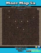 50+ Fantasy RPG Maps 1: (63 of 95) Maze Map 5a