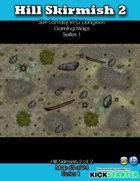 50+ Fantasy RPG Maps 1: (65 of 95) Hill Skirmish 2