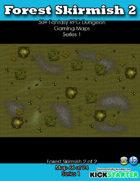 50+ Fantasy RPG Maps 1: (66 of 95) Forest Skirmish 2