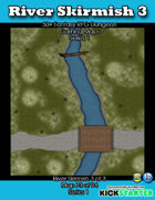 50+ Fantasy RPG Maps 1: (73 of 95) River Skirmish 3