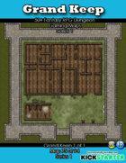 50+ Fantasy RPG Maps 1: (75 of 95) Grand Keep 1