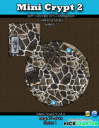 50+ Fantasy RPG Maps 1: (77 of 95) Mini Crypt 2