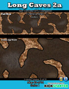 50+ Fantasy RPG Maps 1: (83 of 95) Long Caves 2a
