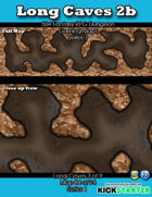 50+ Fantasy RPG Maps 1: (84 of 95) Long Caves 2b