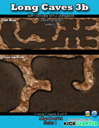 50+ Fantasy RPG Maps 1: (86 of 95) Long Caves 3b