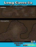 50+ Fantasy RPG Maps 1: (89 of 95) Long Caves 5a