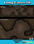 50+ Fantasy RPG Maps 1: (90 of 95) Long Caves 5b