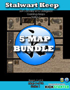 50+ Fantasy RPG Maps 1 Bundle 12: Stalwart Keep Bundle [BUNDLE]