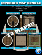 50+ Fantasy RPG Maps 1 Bundle 05: Interior Map Bundle [BUNDLE]