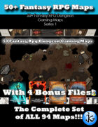 50 Maps 1: All 94 Maps [BUNDLE]