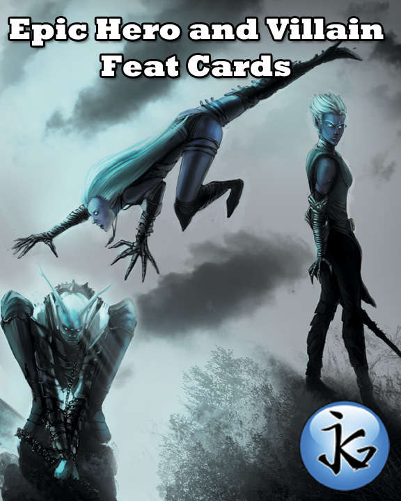 Epic Hero and Villain Feat Cards 1: The Complete Set [BUNDLE] - Jayson  Graves | Epic Hero and Villain Feat Cards | DriveThruRPG com