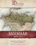 Sanmaar - World Map Set